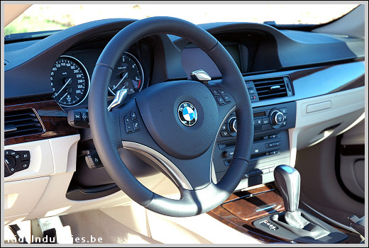 BMW 335d dashboard